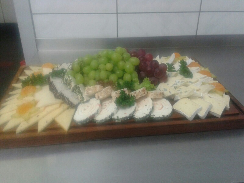 Gemischte Käseplatte