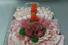 Gemischte Platte Roast Beef - Schinken - Salami